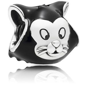 Cat Charm 925 Sterling Silver Bead